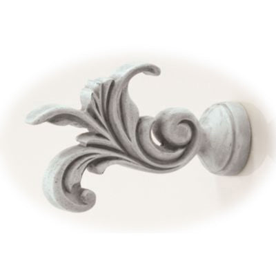 Leaf Dance - Buckingham Collection Drapery Finials - 3 Inch
