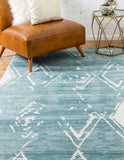 Carnegie Hill Rug - Turquoise