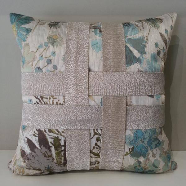 Gazebo Floral Pillow