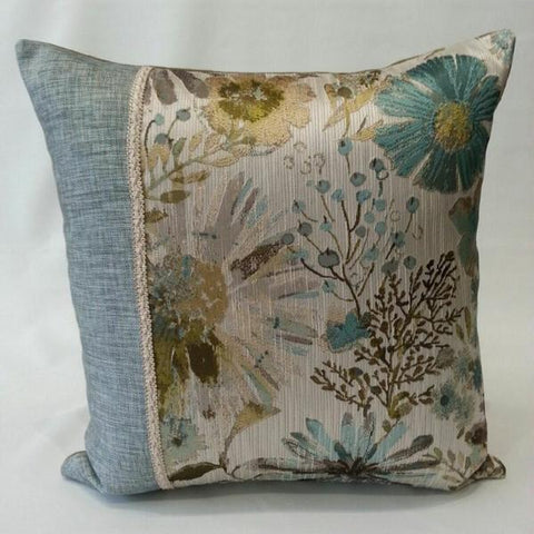 Gazebo Floral Divide Pillow