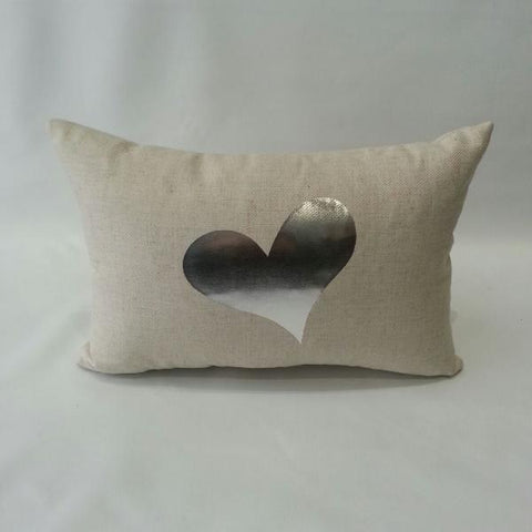 Heart Pillow Benefitting ITOG - Silver