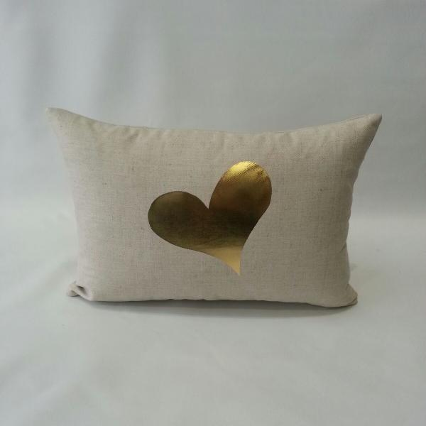 Heart Pillow Benefitting ITOG - Gold