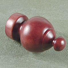 "Kirsch 1 3/8"" Sherwood Finial"