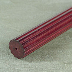 "Kirsch Fluted Wood Pole, 1 3/8"" diameter"