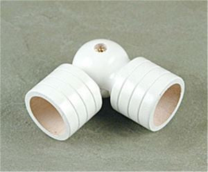 Wood Trends Swivel Sockets - White