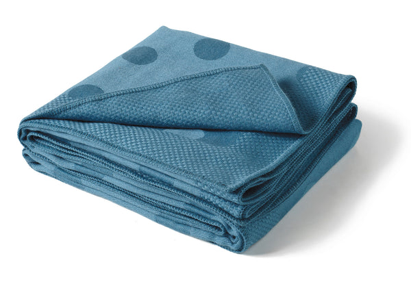 Polka Dot Throw - Light Blue
