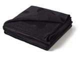 Polka Dot Throw - Charcoal Gray