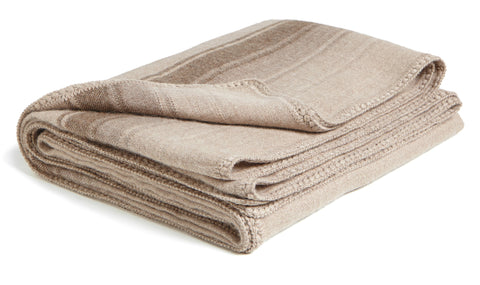Striped Throw - Natural