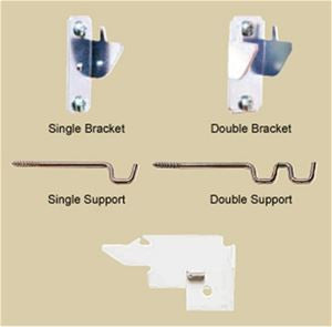 Lockseam Brackets/Support