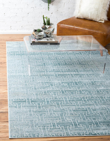 Park Avenue Rug - Turquoise