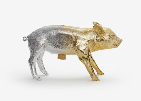Harry Allen Piggy Bank - Ombre Gold + Silver