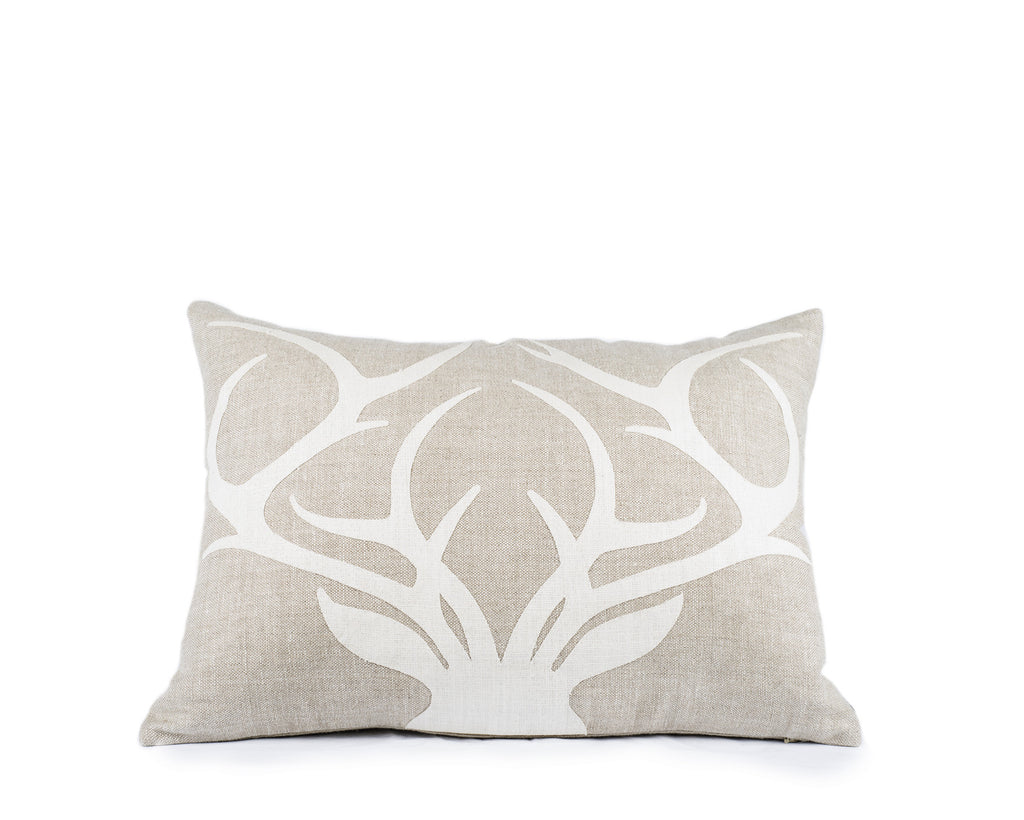 Stag Applique Pillow