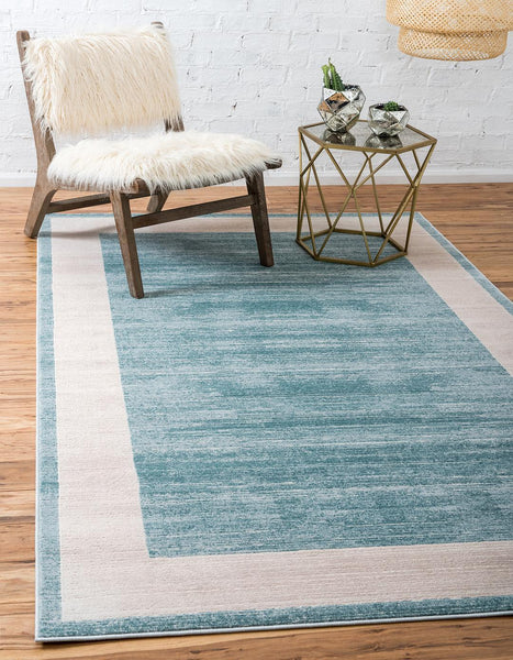 Yorkville Avenue Rug - Turquoise