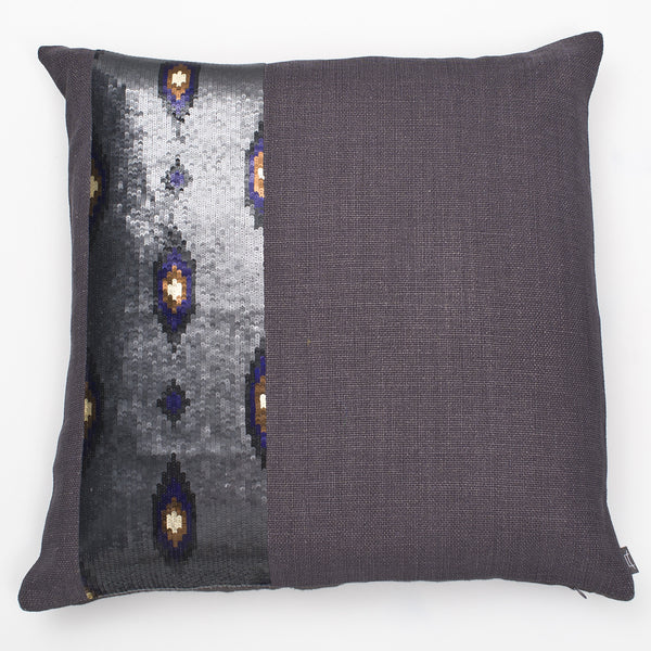 Sequin Ikat Pillow
