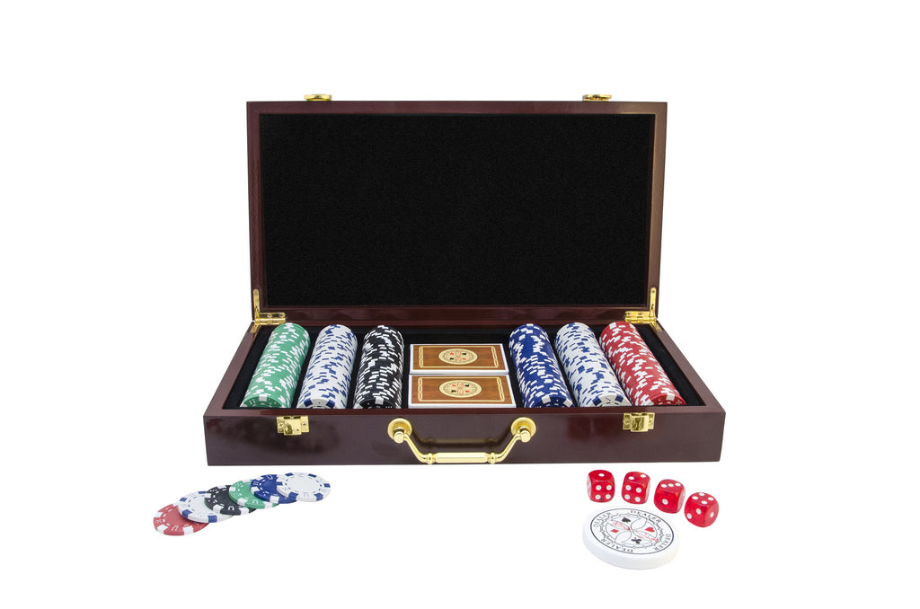 Poker Chip Gift Set by Beth Shak