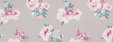 Madcap Cottage Isleboro Eve Fabric - Oyster Grey