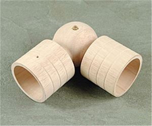 Wood Trends Swivel Sockets - Natural