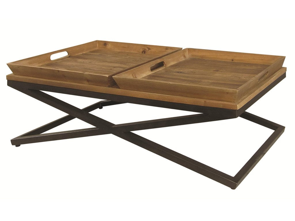 Jax Coffee Table With Removable Trays