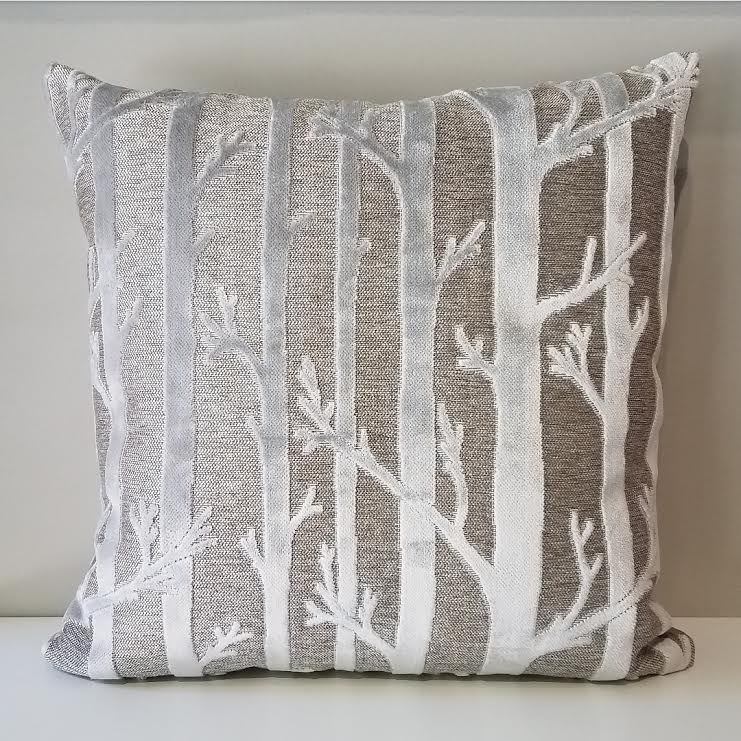 Silver Forest Pillow