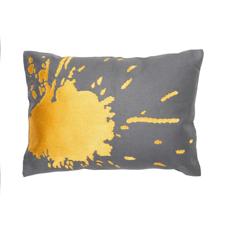 Burst Pillow - Canary Yellow
