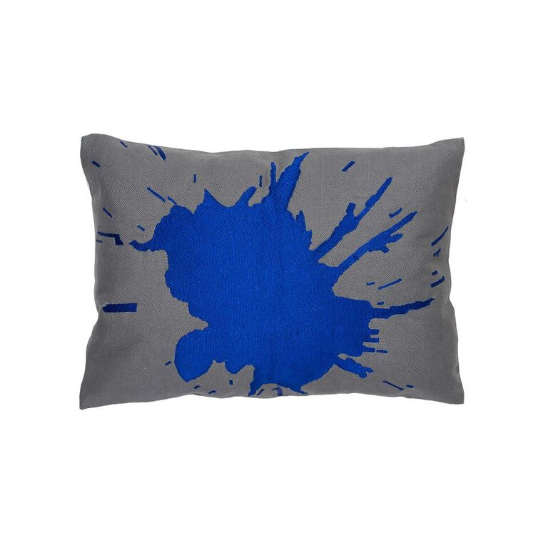 Burst Pillow - Lapis Blue