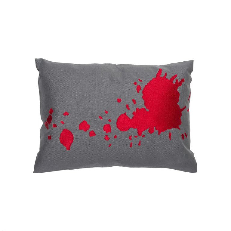 Burst Pillow - Scarlet Red