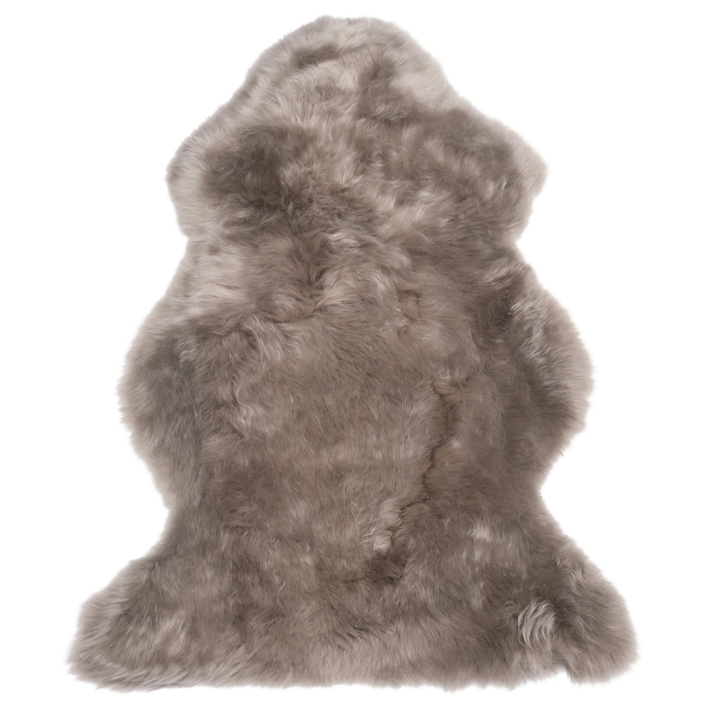 Single Sheepskin Throw Rug - Vole