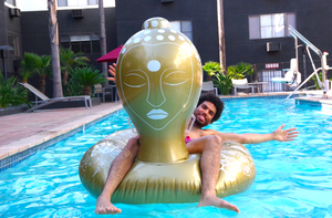 The Namaste and Float Inflatable