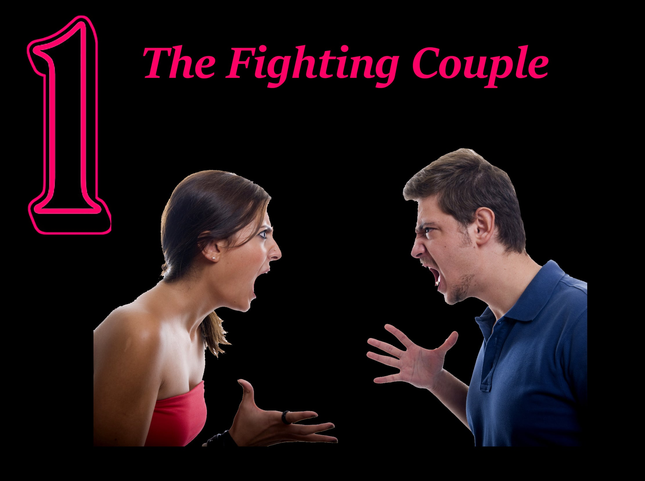 the fighting couple