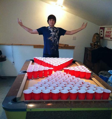The beer pong articles tagged led beer pong tables infinity beer pong - Beer pong table triangle dimensions ...