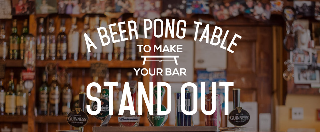 A Beer Pong Table To Make Your Bar Stand Out