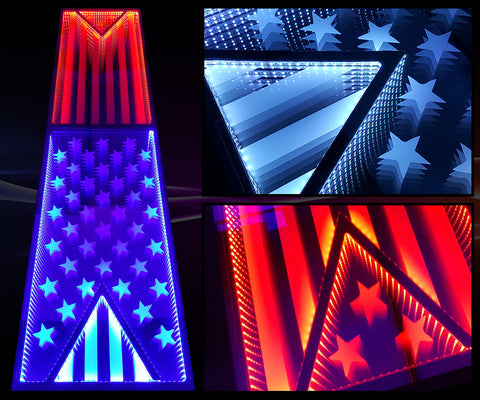 Infinity America Custom LED Beer Pong Table
