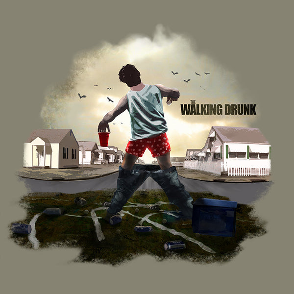 The Walking Drunk Tshirt