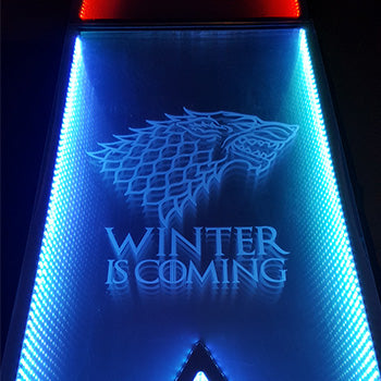 Game of Thrones LED Beer Pong Tables