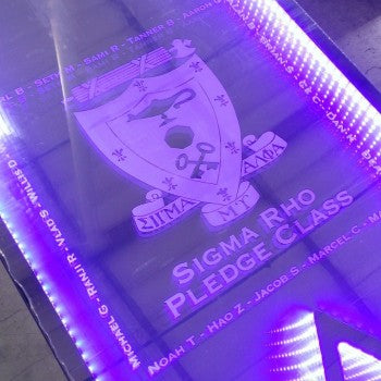 Sigma Rho LED Beer Pong Tables