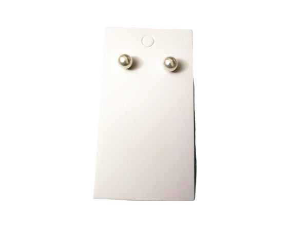 Medium Pearl Earrings - Envee Styles Boutique