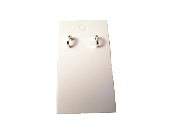 Small Silver Earrings - Envee Styles Boutique
