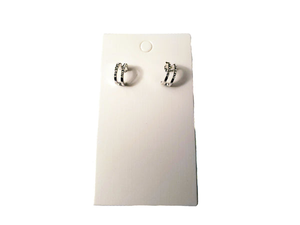 Small Double Lined Earrings - Envee Styles Boutique