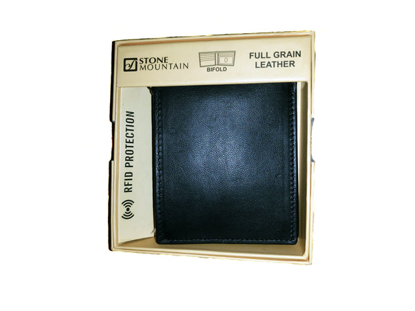 Black RFID Protection Wallet - Envee Styles Boutique