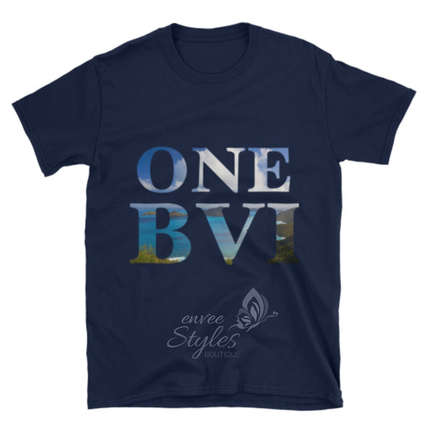 ONE BVI T-Shirt (Fundraiser Relief for Hurricane Irma Victims in the BVI) - Envee Styles Boutique