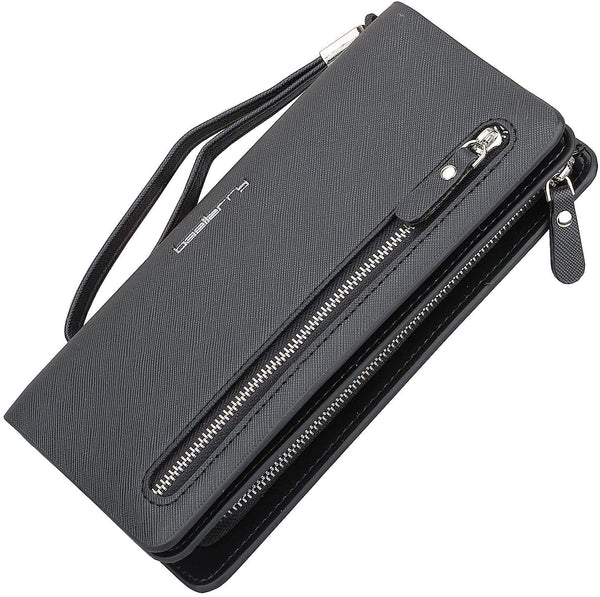 Black Wallet Credit Card Purse