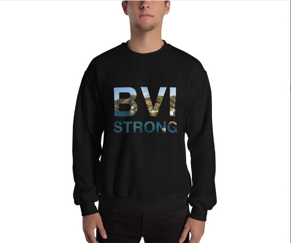 BVI Strong Sweatshirt - Envee Styles Boutique