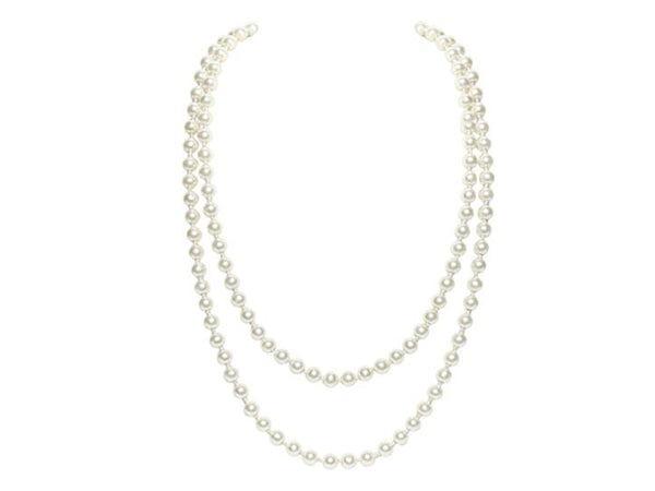Double Pearl Necklace - Envee Styles Boutique
