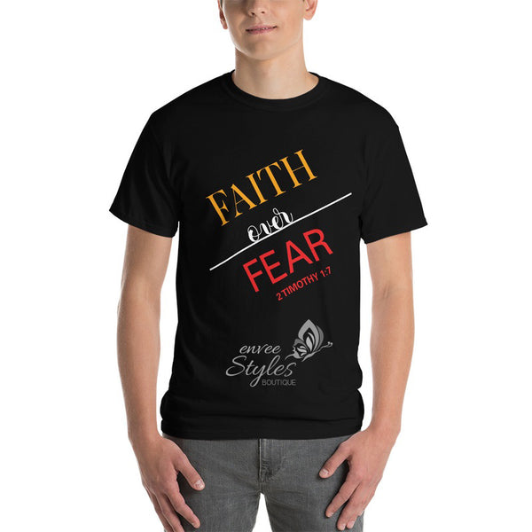 Faith Over Fear T-Shirt - Envee Styles Boutique