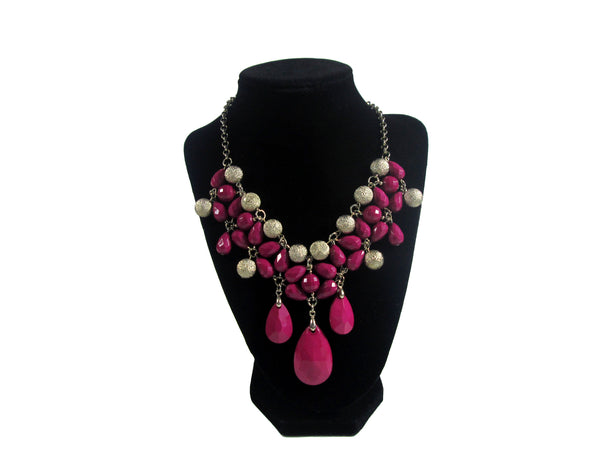 Pink Necklace - Envee Styles Boutique