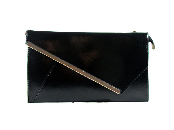 Faux Leather Clutch Bag - Envee Styles Boutique