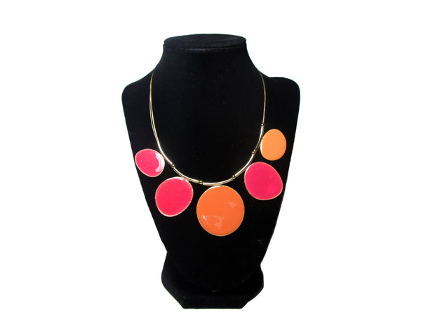 Orange and Red Spine Necklace - Envee Styles Boutique