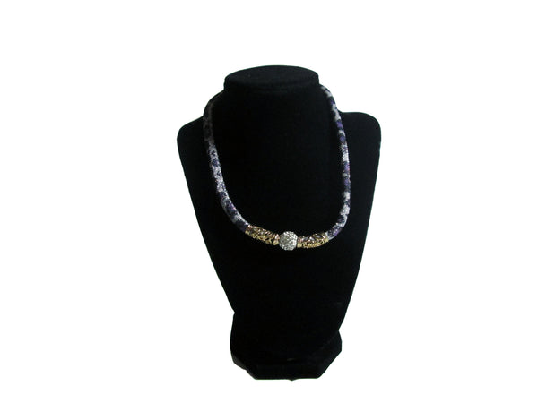 Black and Gold Stardust Bracelet and Necklace Jewelry Set - Envee Styles Boutique