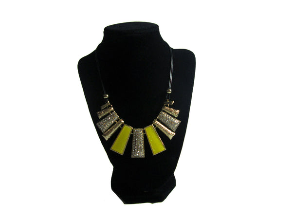 Gold and Yellow Necklace - Envee Styles Boutique