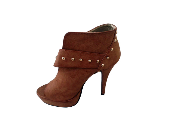 Light Brown Heels - Envee Styles Boutique